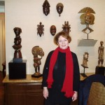 Christine Valluet french dealer and collector
