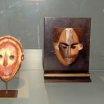 Masques - Mbole et Boa (2)- R.D.C.; Statuette - Kela