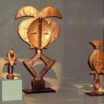 Sculpture - Kota ou Akele; Reliquaires (2) - Kota - Gabon