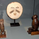 Statuettes - Zande (2); Masque - Yela