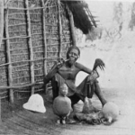 A Tchumbiri Man and His Fetish - Billington photo