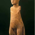 Tu, god figure, Gambier Islands, Mangareva Island, collected 1834–1836. Wood.  Collection du musée du Vatican